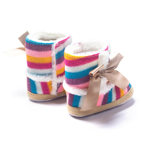 Image of Baby Girl Anti-Slip Flat Boots