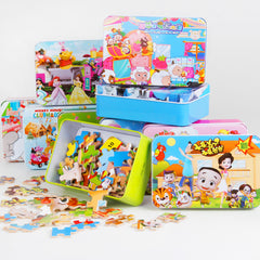 Box of Jigsaw Educational Toys - [12 Variants]