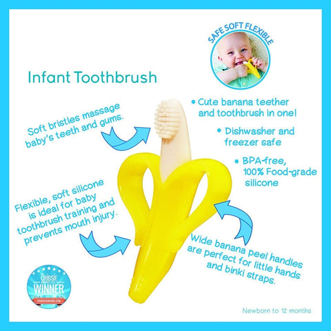 Safe Baby Teether ToothBrush Toy
