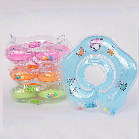 Inflatable baby neck ring swimming Aid