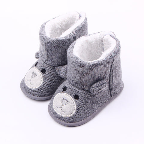 Baby & Toddlers Winter Warm Knitted Boots - [18 Variants]
