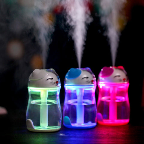 Baby Bedroom USB Ultrasonic Humidifier and Aroma Diffuser