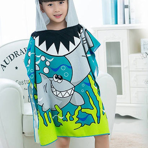 Image of Baby Swimming Hooded Bath, Beach Towel