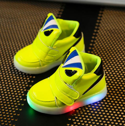 Toddler Boys Led Sports Sneakers Shoes - [3 Variants]