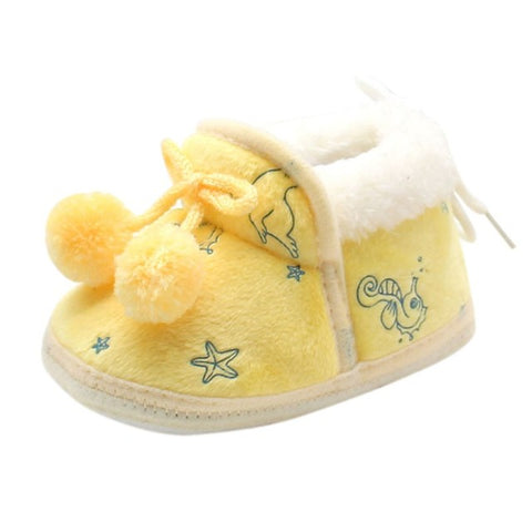 Cute Baby Winter Warm Shoes - [3 Variants]
