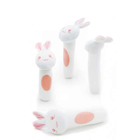 Image of Cartoon Animal Shaped Baby Bell Toys - [9 Variants]