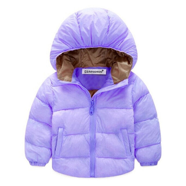 Boys and Girls Winter Hooded Jackets