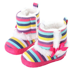Baby Girl Anti-Slip Flat Boots - [2 Variants]