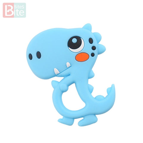 Image of Silicone Dinosaur Teether
