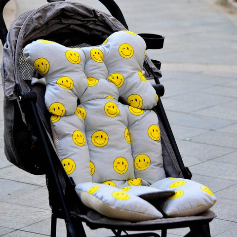 Printed Pram Liner Cushion Seat