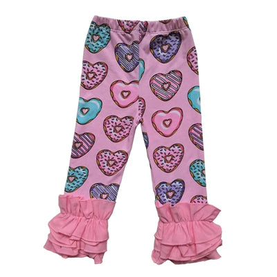 Image of Baby Girl Floral Elastic Pants
