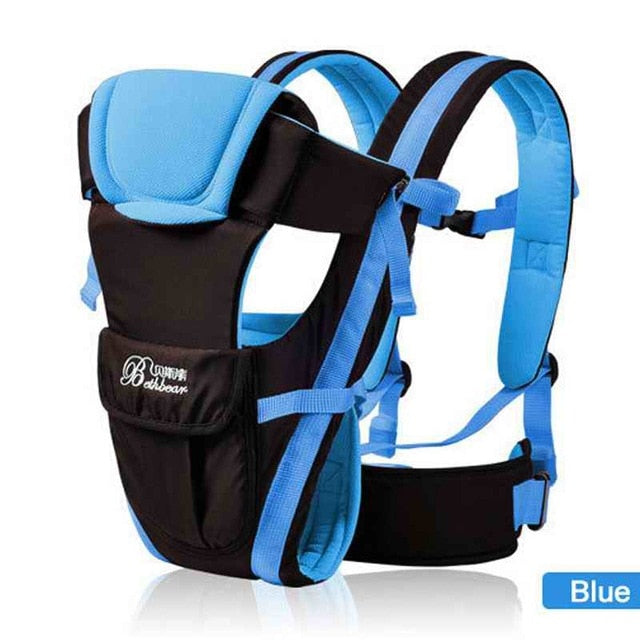 Breathable Baby Carrier 4 in 1 Infant Comfortable Sling Backpack Pouch