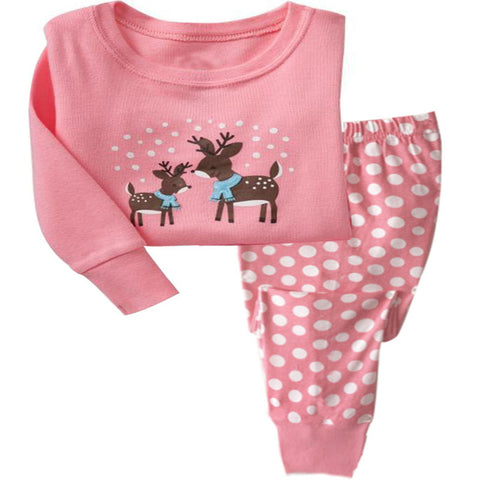Image of Kids' Sleepwear Pajama Clothing Set - [22 Variants]
