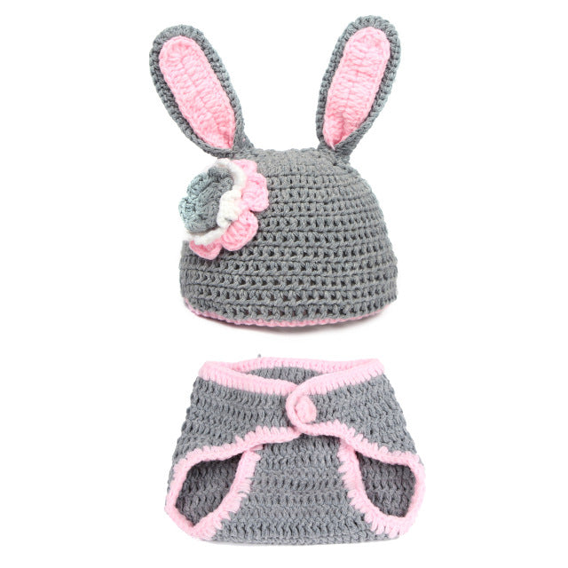Baby Bunny Photo Shoot Props Set