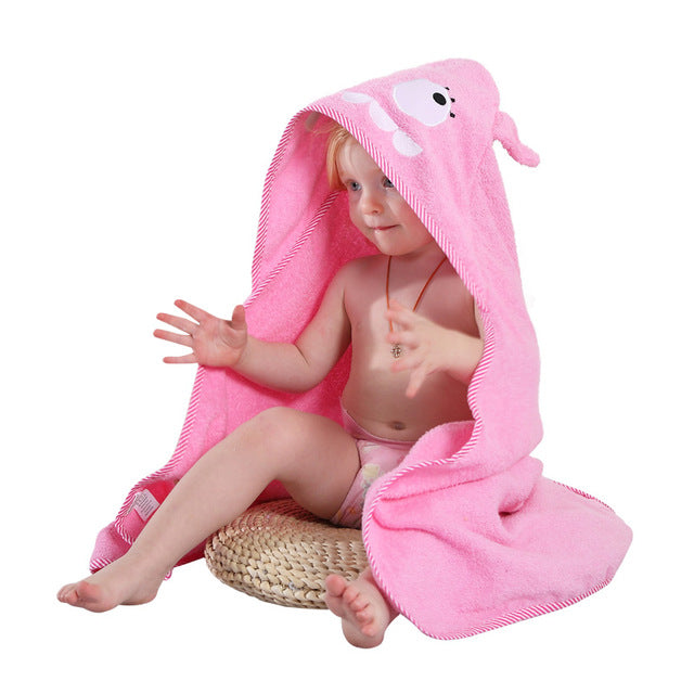 Funny Animal Hooded Towel Bath - [5 Variants]