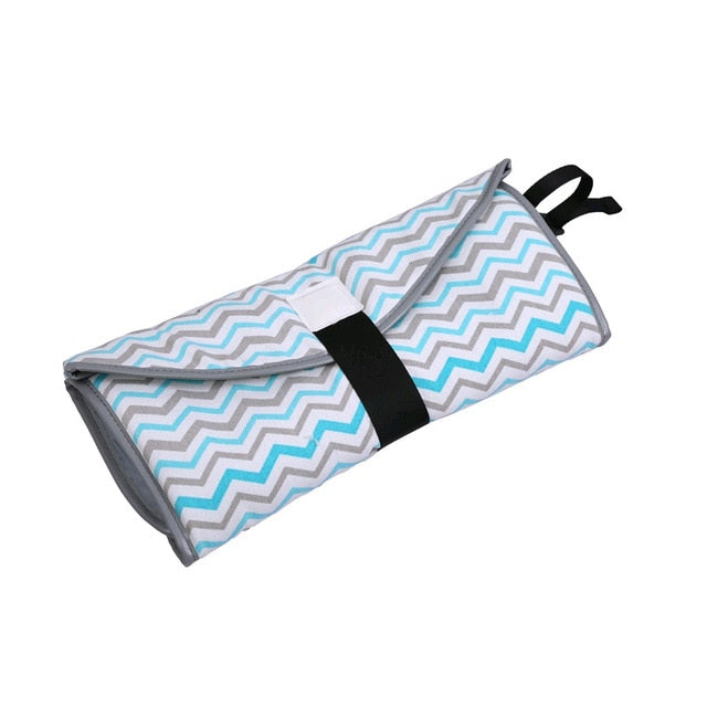 Clean Hands Changing Pad Portable Baby 3in1 Cover Mat Folding Diaper Bag Kit NEW Covers