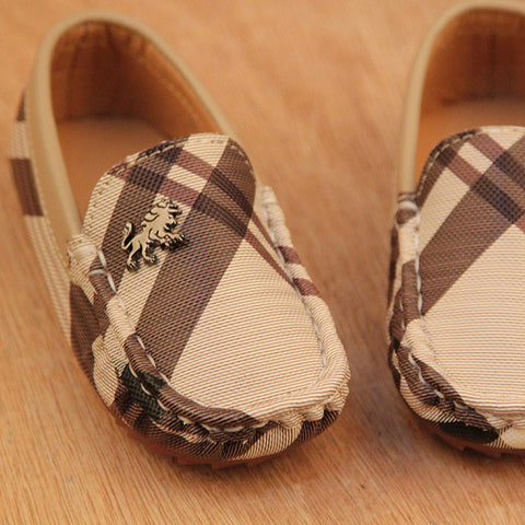 Image of Kid's Loafer Leather Shoes - [3 Variants]