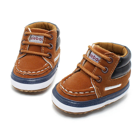 Image of Autumn Spring Lace-up Baby Shoes - [5 Variants]