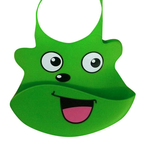 Baby Silicone Cartoon Bibs