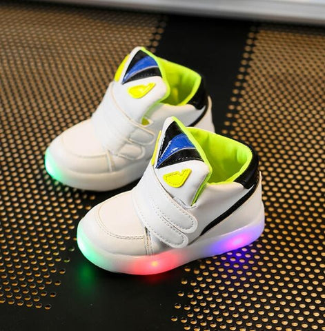 Image of Toddler Boys Led Sports Sneakers Shoes - [3 Variants]