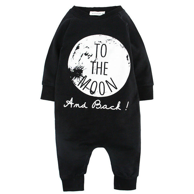 One Pieces Baby Romper With Cute Text[ 2 Variation ]