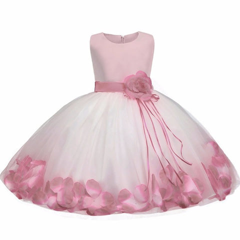 Image of Baby Girl Flower Wedding Dress