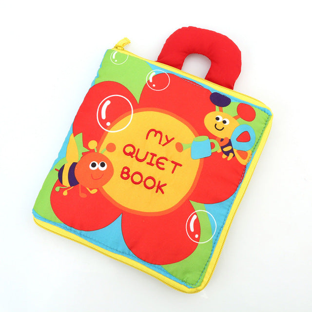 Tear Resistant Baby Cloth Book
