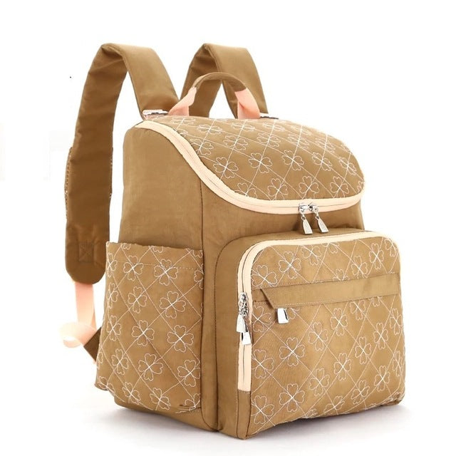 Fashionable Backpack Style Diaper Bags