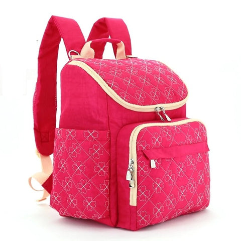 Image of Fashionable Backpack Style Diaper Bags