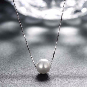 edec01f48 925 Sterling Silver Pearl Necklace – Zodiac Cirque