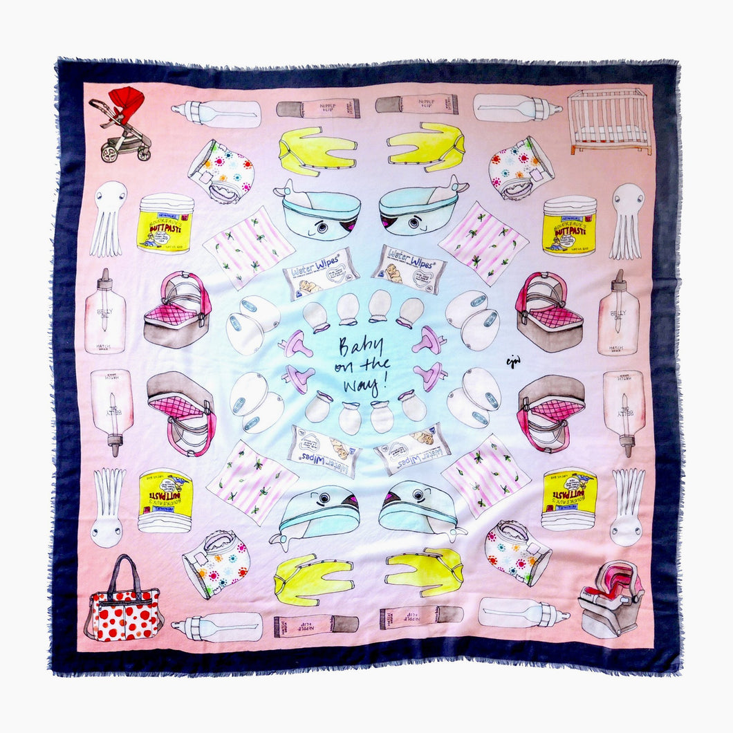 CJW Baby on the Way Scarf Giant