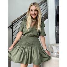 Load image into Gallery viewer, Self Portrait Trench Mini Dress