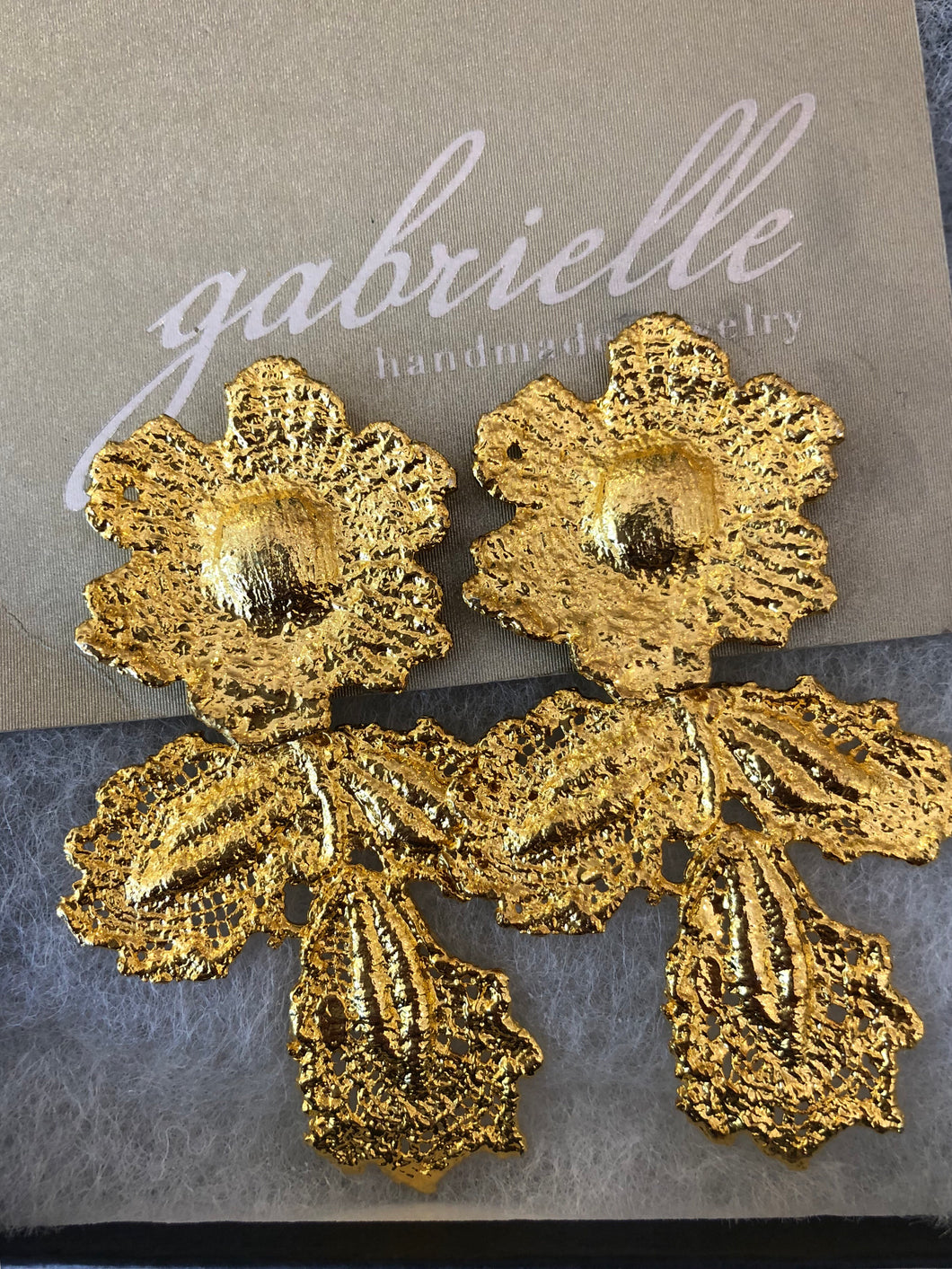 Gabrielle Jewelry Gold Bloom