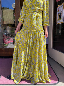 Alexis Yellow Galarza Skirt