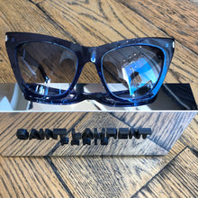 Load image into Gallery viewer, YSL Large Cat Eye Sunglasses