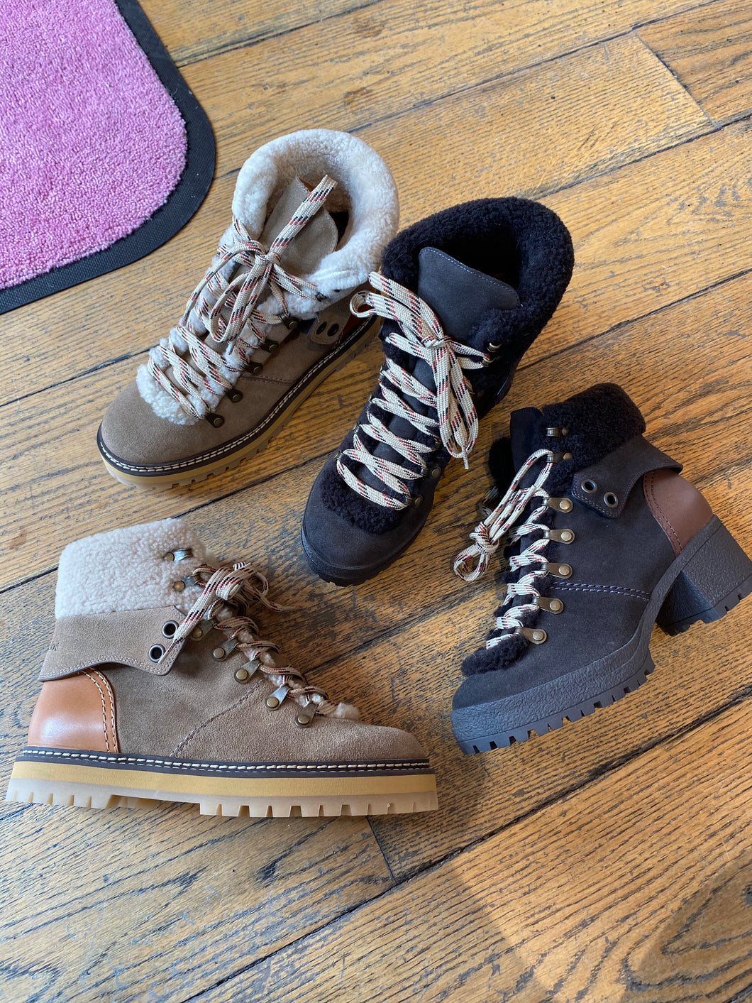 See Lace Up Alpine Boots