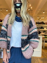 Maiami Mohair Big Striped Cardigan