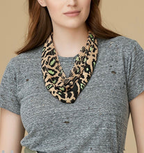 Load image into Gallery viewer, MG Leopard Le Charlotte Scarf Necklace