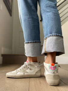 Golden Goose Midstar White