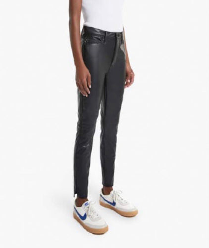 Mother Vamp Faux Leather Skinny