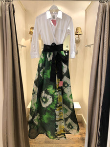 Sara Roka Tropical Maxi Dress