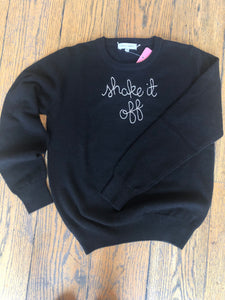 "Lingua Franca ""shake it off"" Sweater"