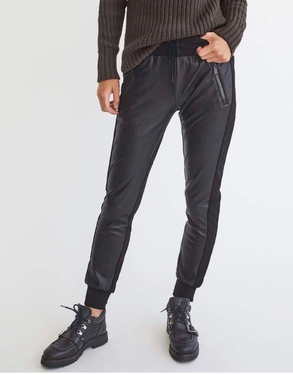Alp n Rock Roona Faux Leather Pant
