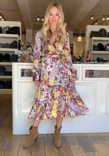 Alexis Fall Floral Dress