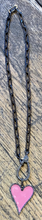 Load image into Gallery viewer, Evergreen Oxidized Paperclip Chain