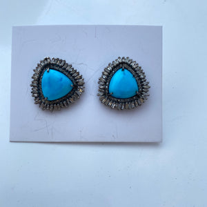 S. Carter Turquoise Earrings