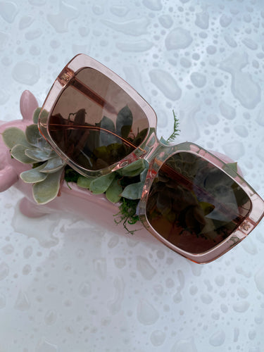 Gucci Pink Glasses