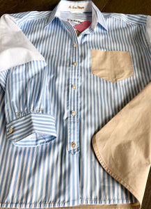 Le Sarte Pettegole Colorblock Stripe Shirt