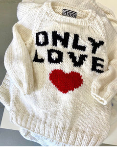 "GOGO ""Only Love"" Sweater"