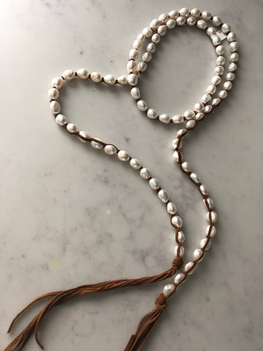 Tess Freshwatwr Pearl Necklace